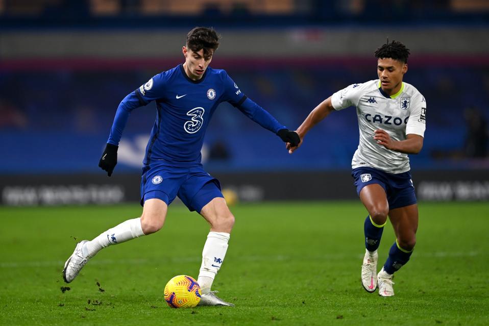 Chelsea v Aston Villa - Premier League - Kai Havertz