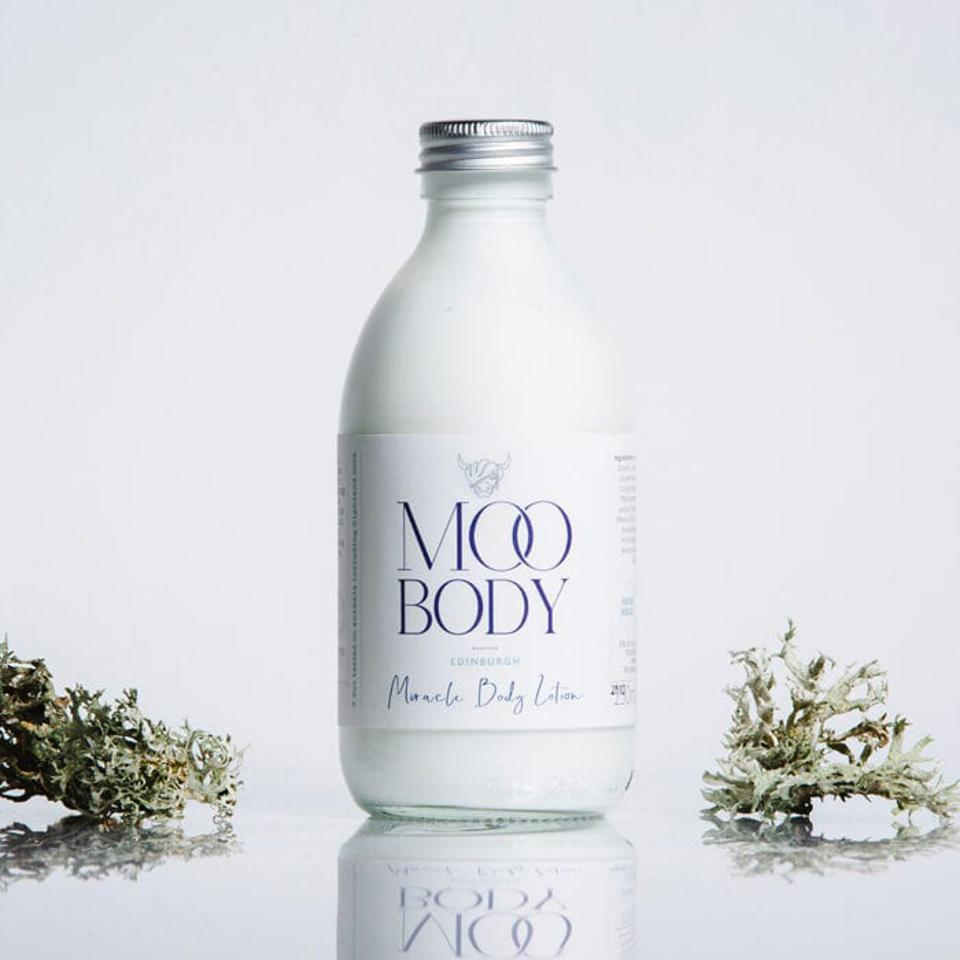 Moo and Yoo Miracle Body Lotion is infused with skin hero ingredient, Marula Oil.