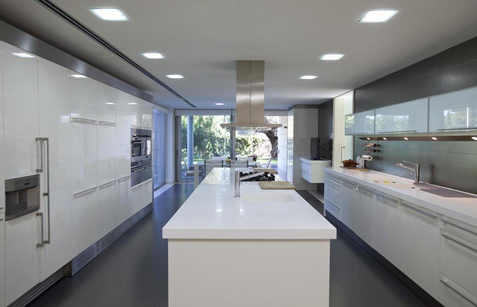 A contemporary kitchen in Spain.