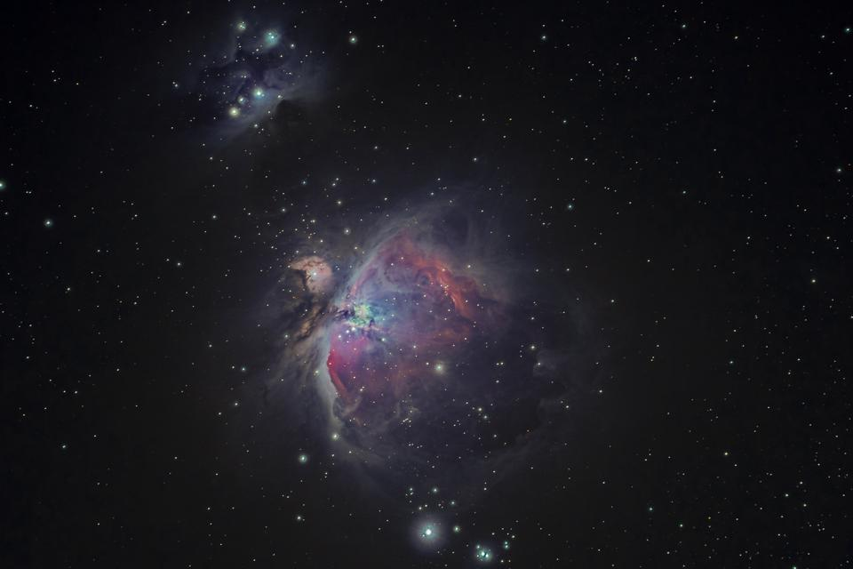 A deeper view of the Orion Nebula taken by Bryan Goff from his backyard in California.