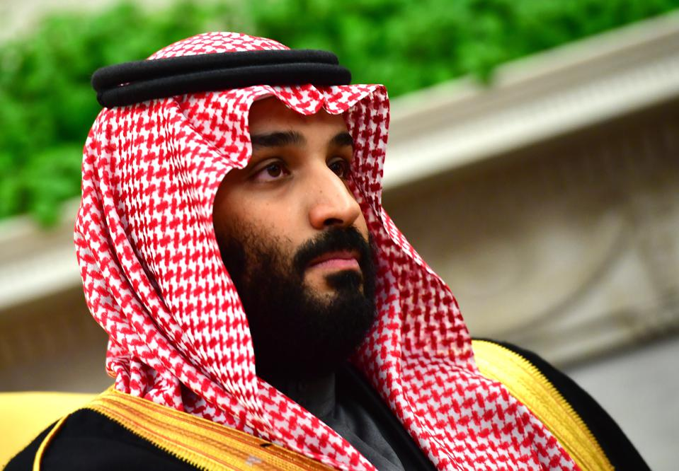 President Trump Hosts Crown Prince Mohammad Bin Salman Of Saudi Arabia At White House