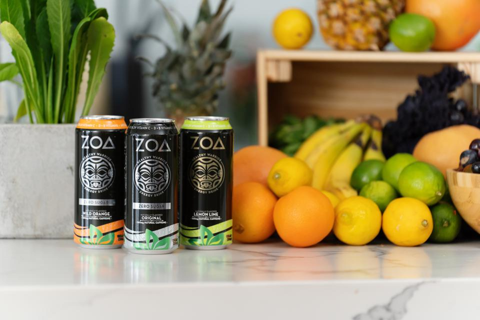 ZOA Energy is made without preservatives, artificial ingredients, or additives.
