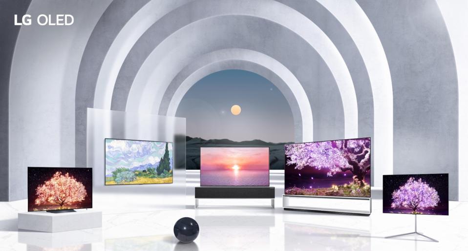 LG OLED TV range 2021
