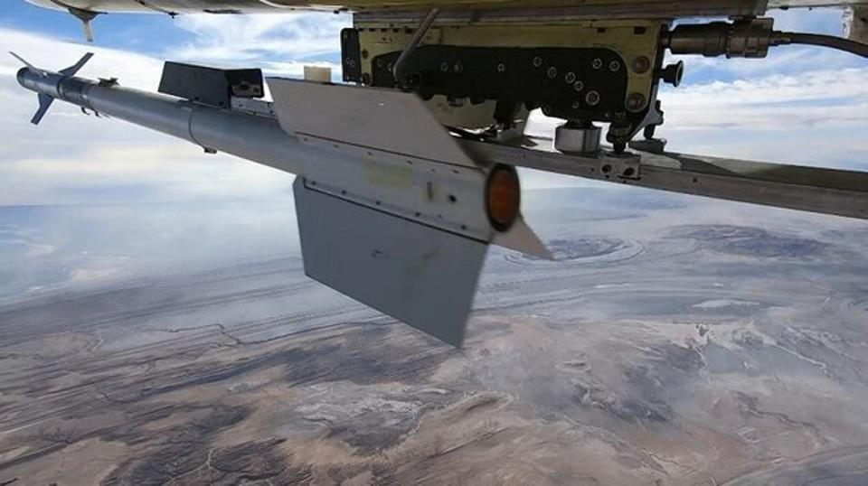 Missile on drone