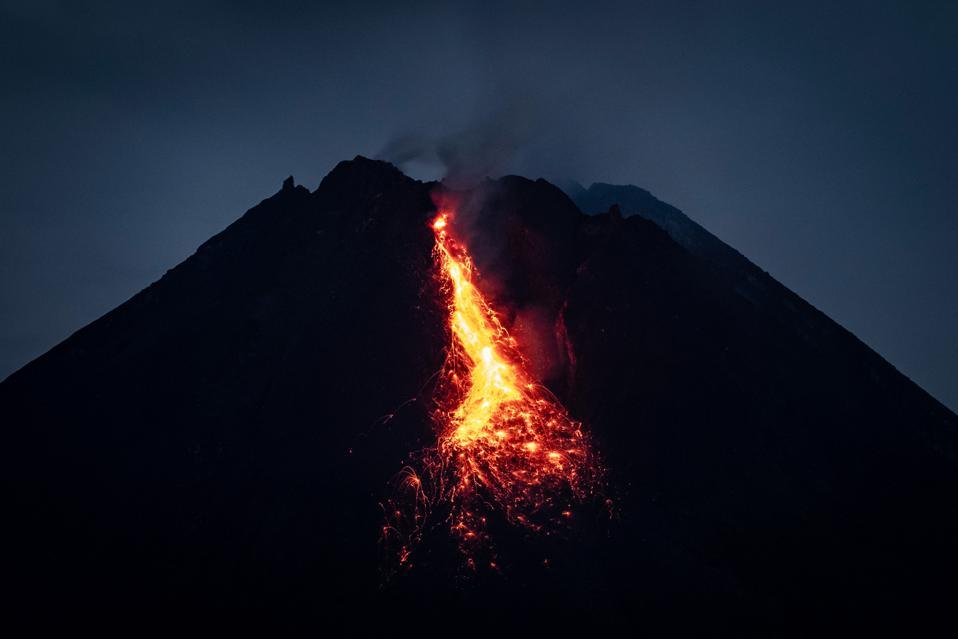 L'attività vulcanica aumenta al monte Merapi