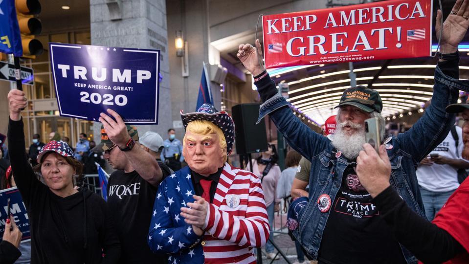 Protestors Active In Philadelphia As Pennsylvania Ballot Count Continues