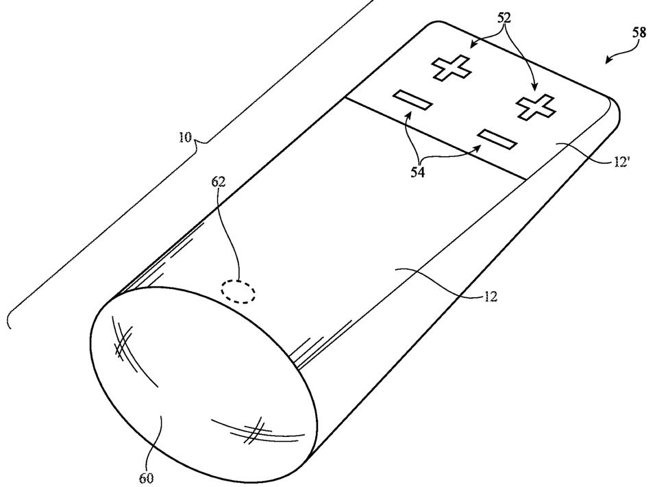 Does this patent show Apple has a new remote in the works for its Apple TV box?