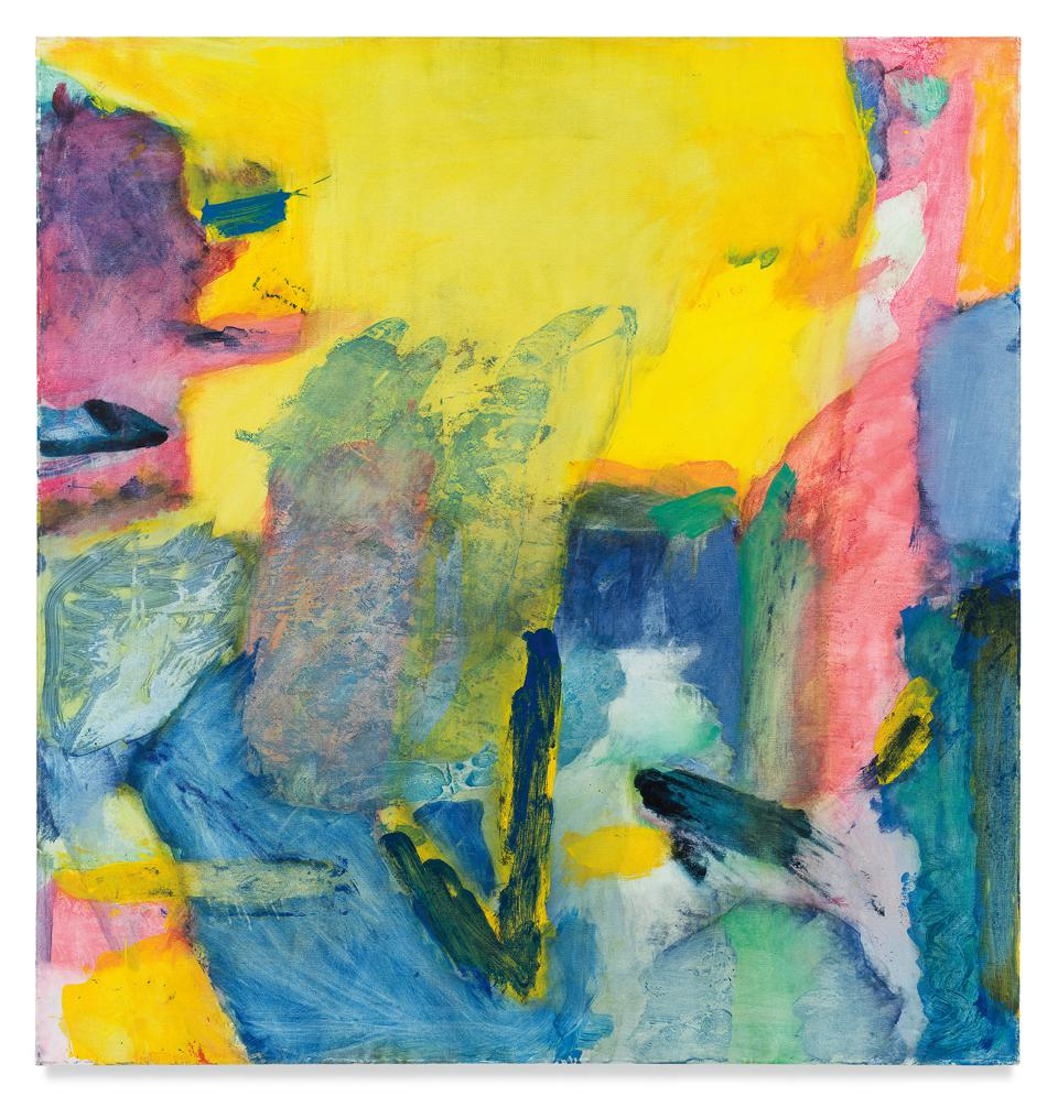 Emily Mason, 'I Heard The Corn,' 1979. Oil on canvas 54 x 52 inches 137.2 x 132.1 cm.
