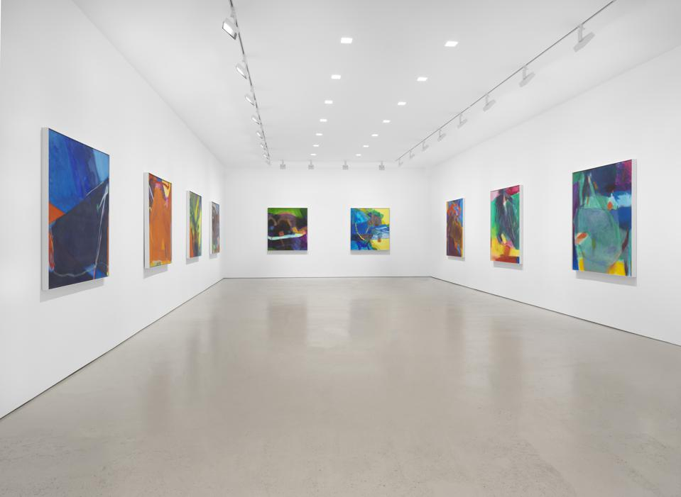 Installation view, ″Chelsea Paintings,″ Miles McEnery Gallery, New York.