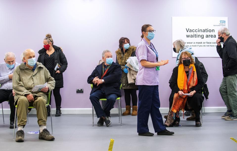 Covid-19 Mass Vaccination Site Opens In Stevenage