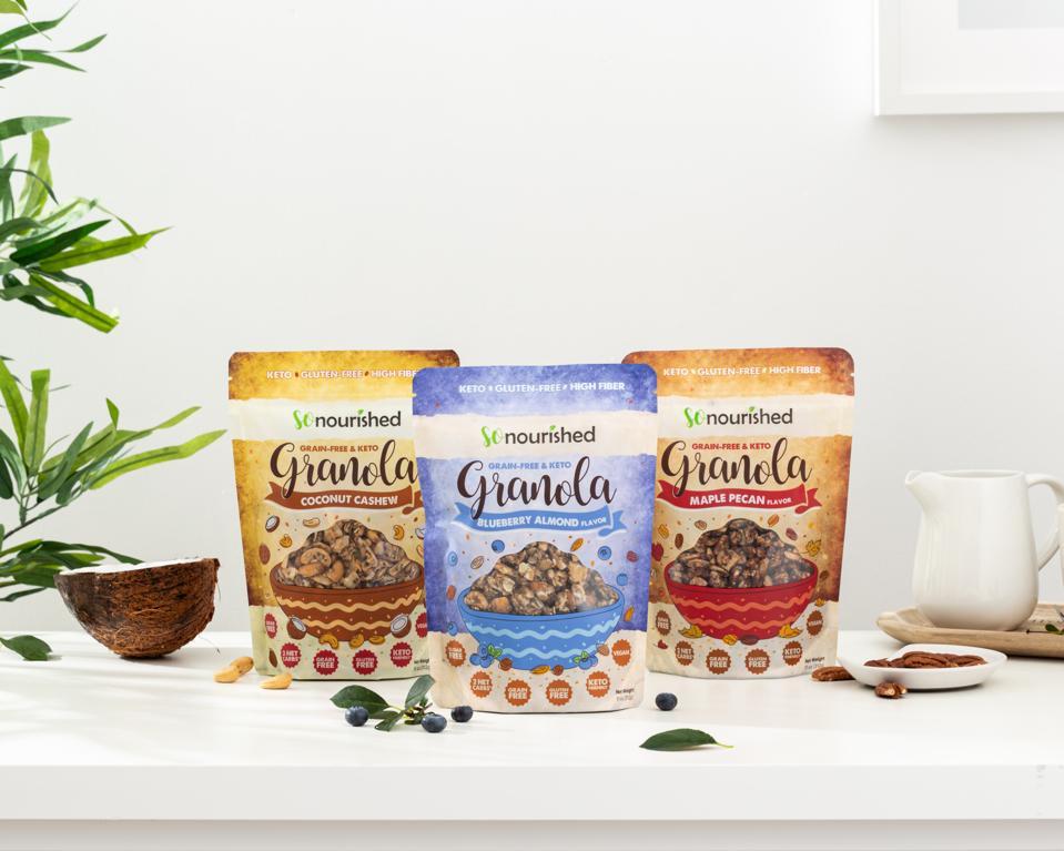 keto friendly granola