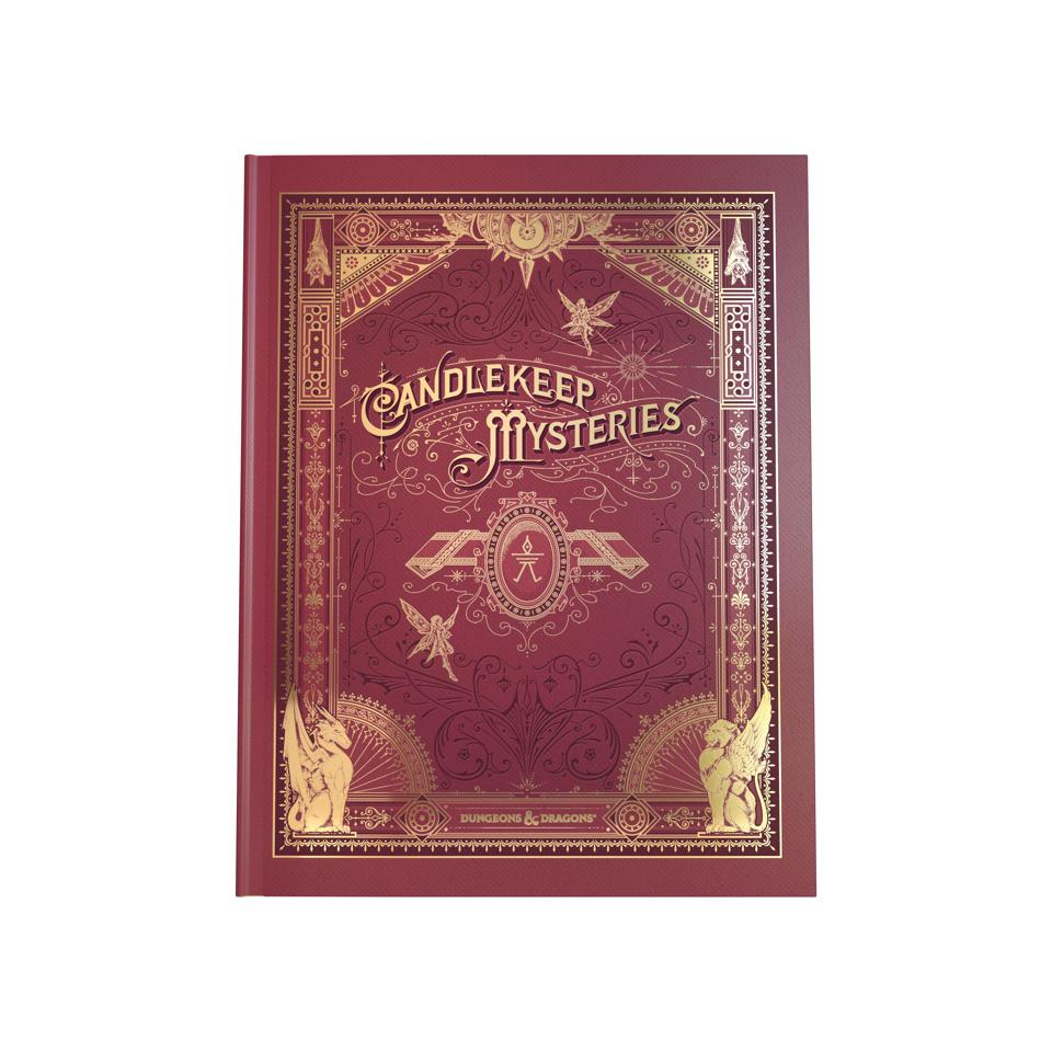Alternative coverage for Candlekeep Mysteries is only available at your friendly local game store.