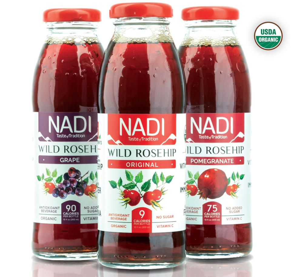 Bottles of NADI