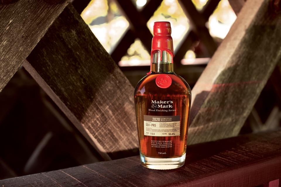 Maker's Mark Wood Finishing Series 2020 Limited Release
