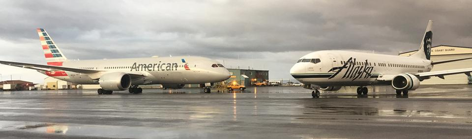 Alaska Airlines American Airlines