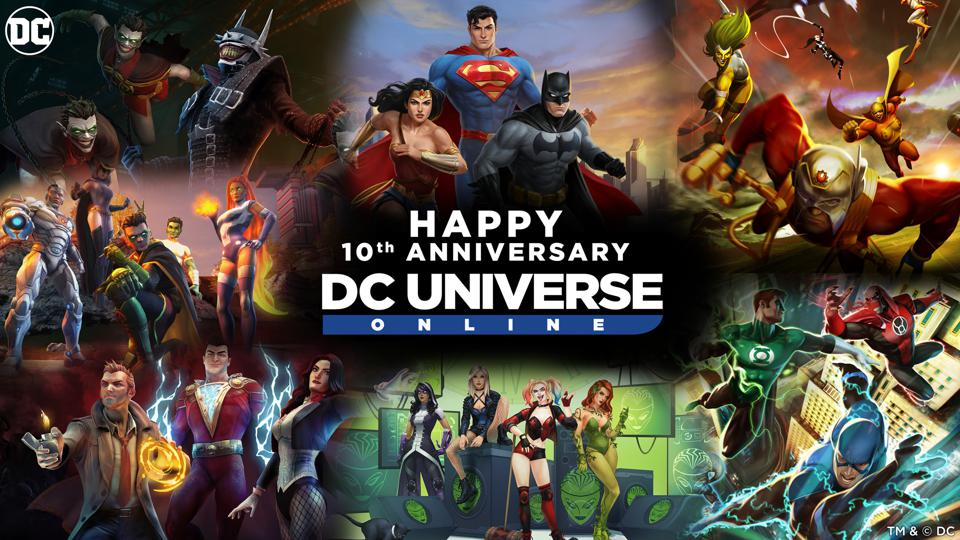 DC Universe Online 10-Year Anniversary