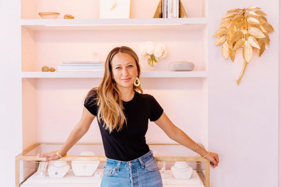 The designer, Jennifer Meyer