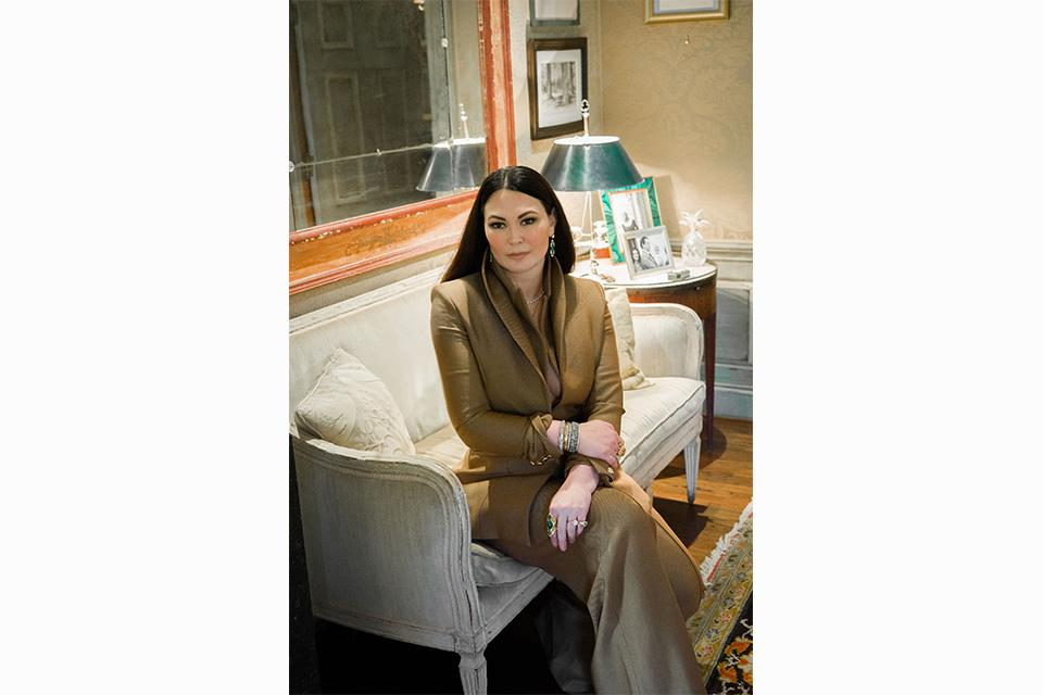The designer, Lauren Blair Blake