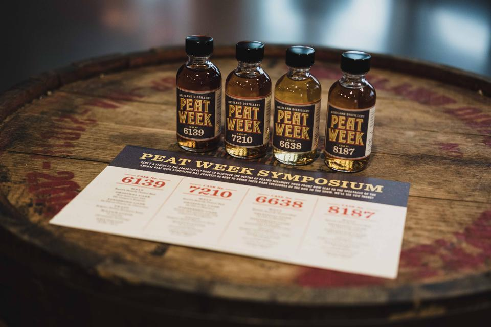 Westland Distillery Peat Week