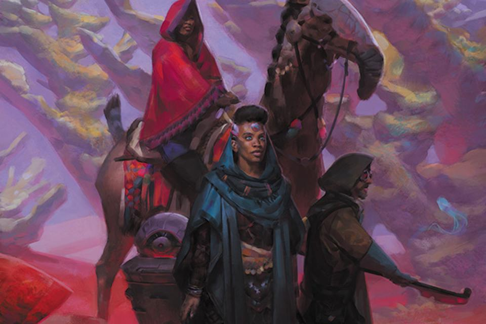 the cover art for the Numenera boxed set