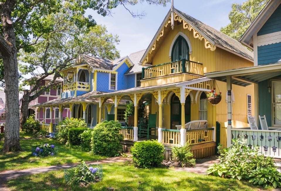 Oak Bluffs Cottages, Martha's Vineyard