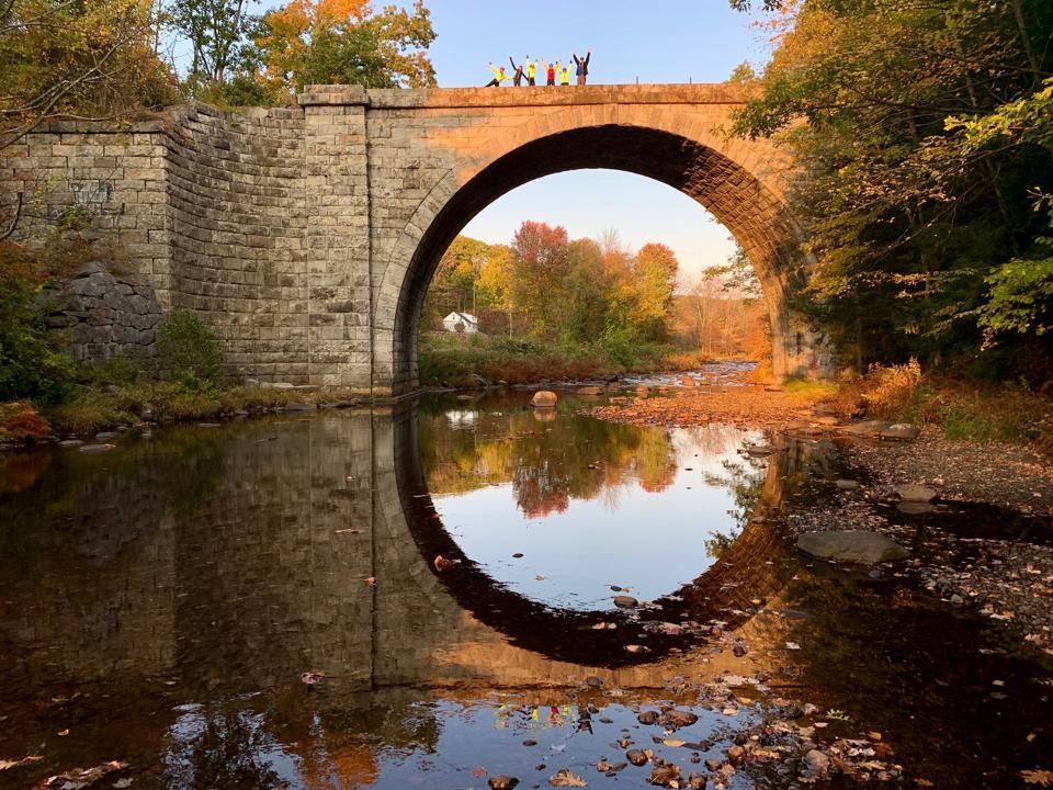 Stone Arch Bridge, Keene, New Hampshire