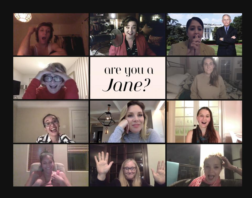 Jane Club members meet virtually over the pandemic multiple times a day for programming.