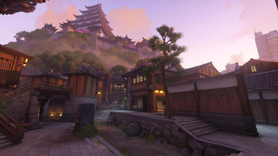 Overwatch map Kanezaka