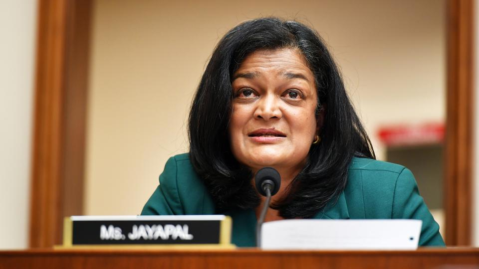 Rep. Jayapal Tests Positive For Covid-19, Blames Republicans Who Refused To  Wear Masks During Capitol Riots