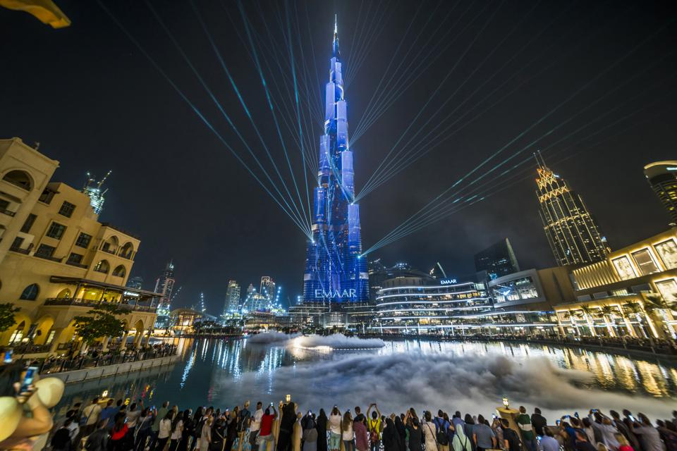 Many British people traveled to Dubai over Christmas before lockdown was instigated