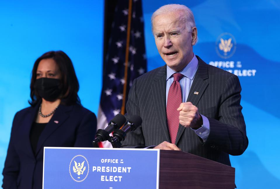 President-Elect Biden and Vice President-elect Kamala Harris announcing cabinet members