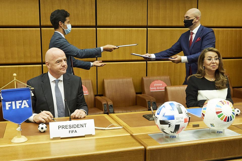 (SP)AUSTRIA-VIENNA-FOOTBALL-FIFA AND UNODC