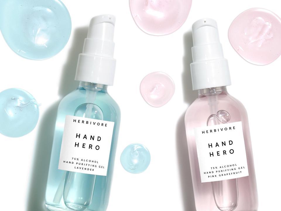Herbivore hand sanitizer