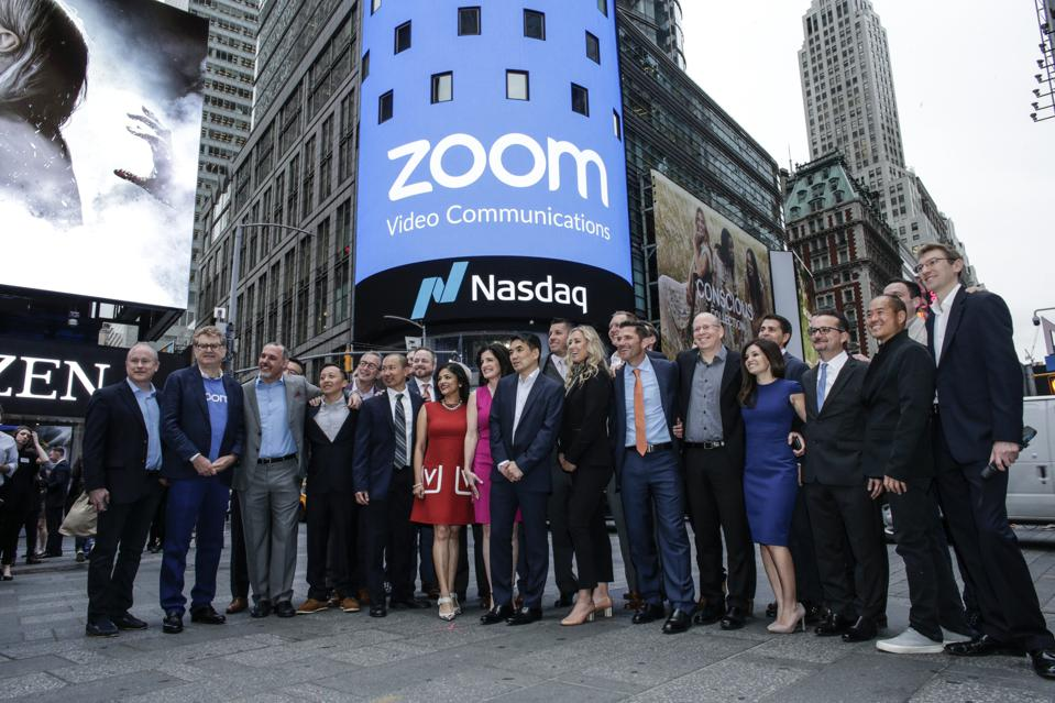 Video Conferencing Software Zoom Goes Public On Nasdaq Exchange. Zoom, Microsoft Teams, and Slack have started to replace the culture of in-person meetings.
