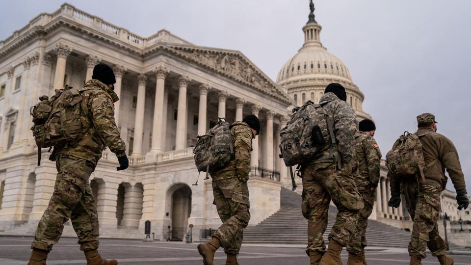 US Capitol Building Riot Aftermath