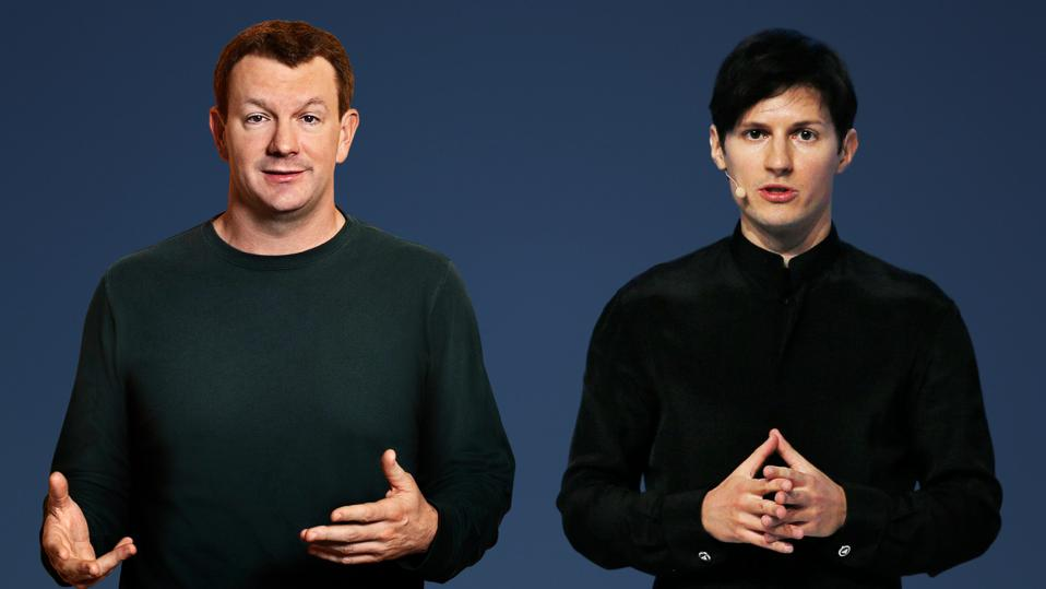 brian acton signal pavel durov telegram