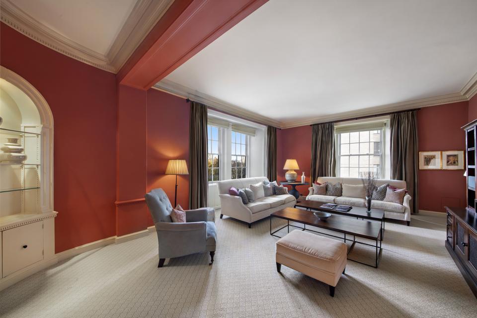 An apartment in Midtown Manhattan.