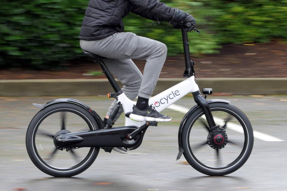 GoCycle GX folding electric ebike bicycle
