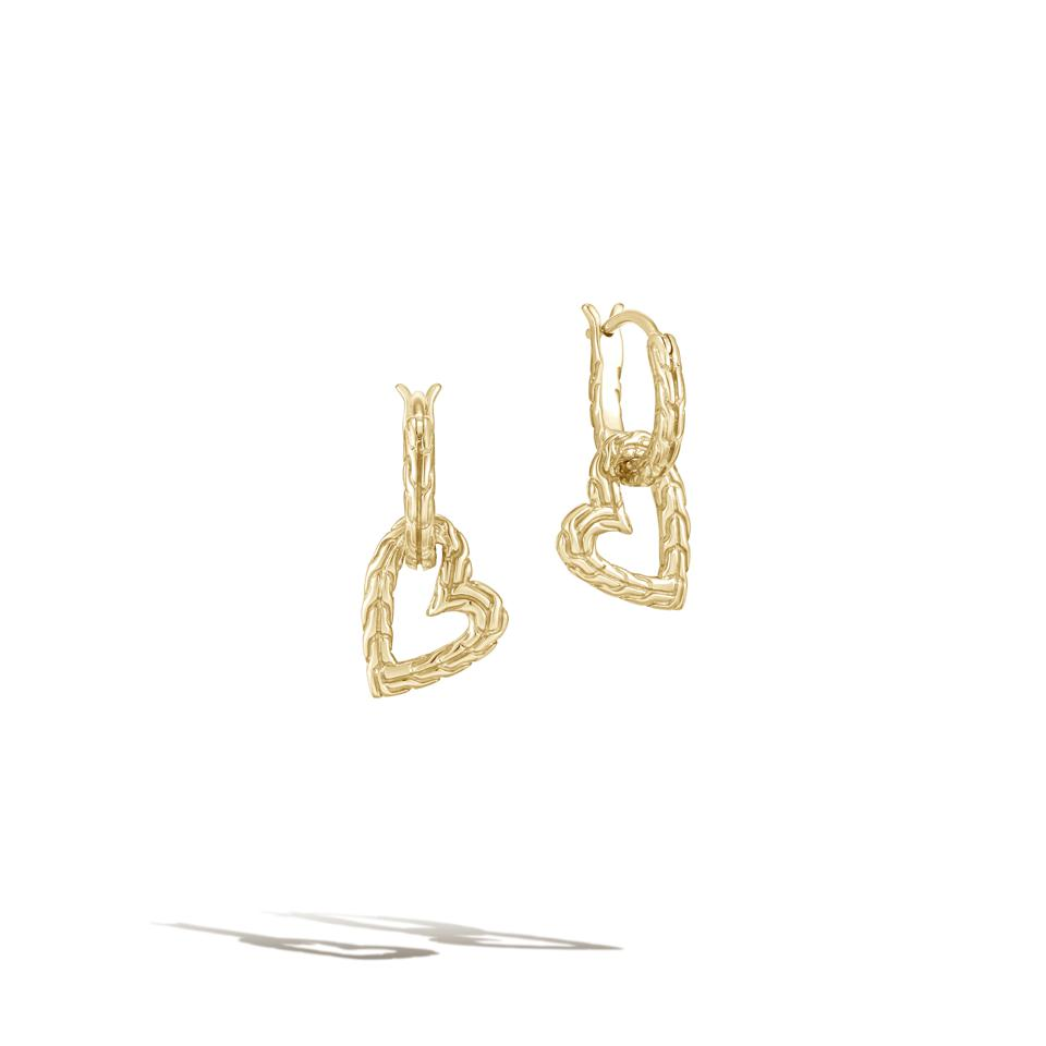 Earrings from the Mad Love collection, Adwoa Aboah x John Hardy