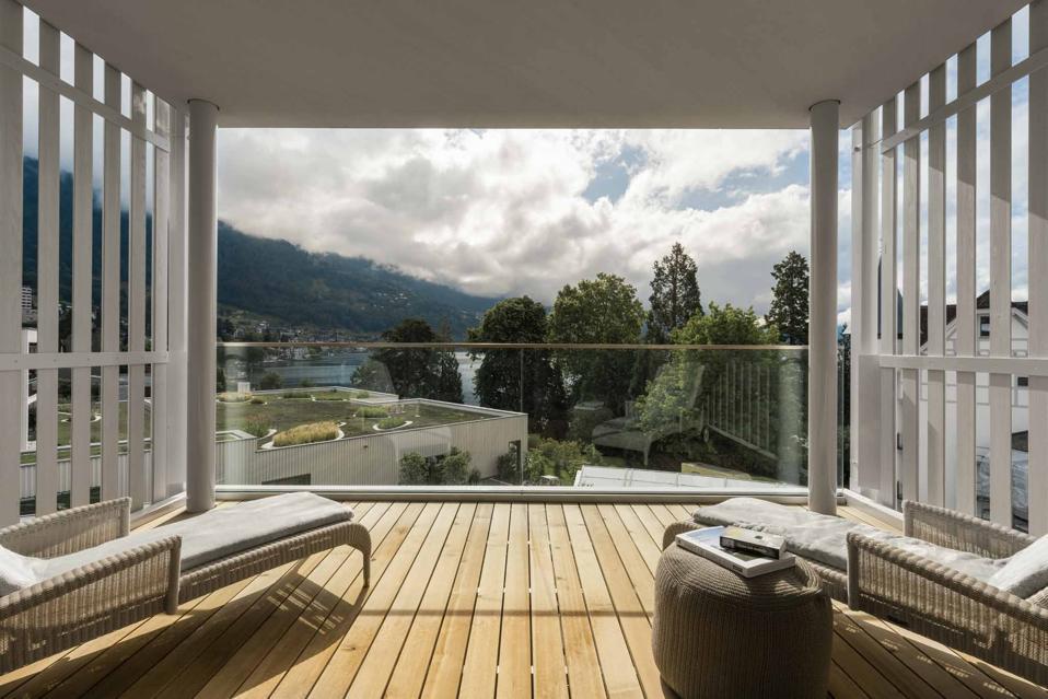 Chenot Palace Weggis Suite with balcony
