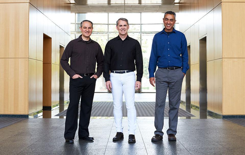 NUVIA Co-Founders John Bruno, Gerard Williams III And Manu Gulati
