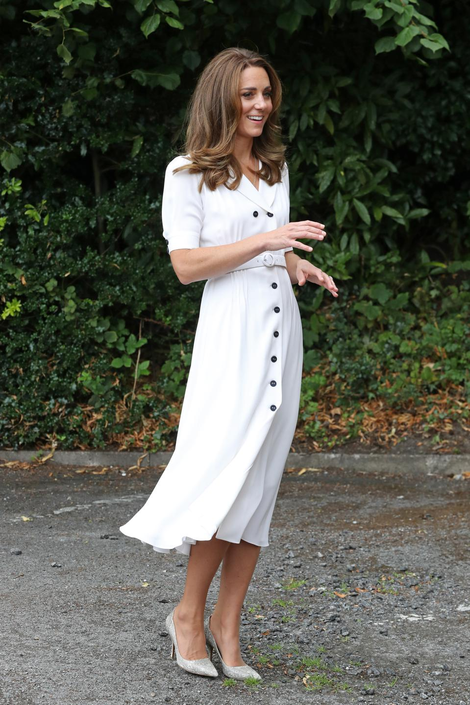 The Duchess Of Cambridge in August 2020