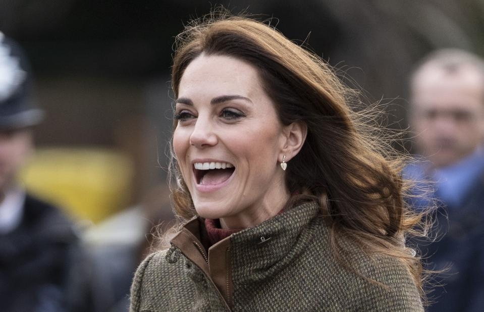 The Duchess Of Cambridge in January 2019