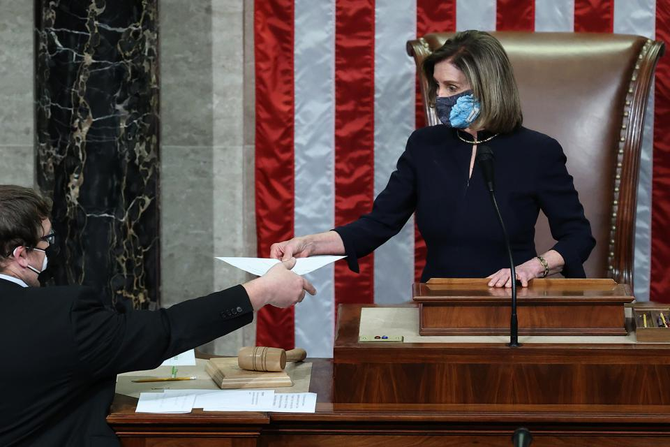 House Votes On Articles Of Impeachment Against President Trump