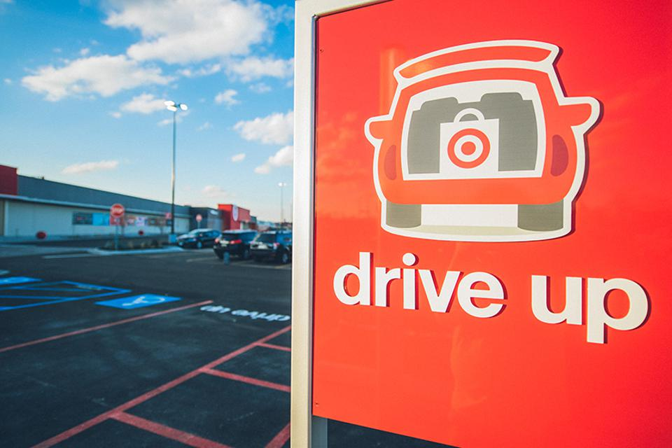 Target's Drive Up service was wildly popular during the holiday season.