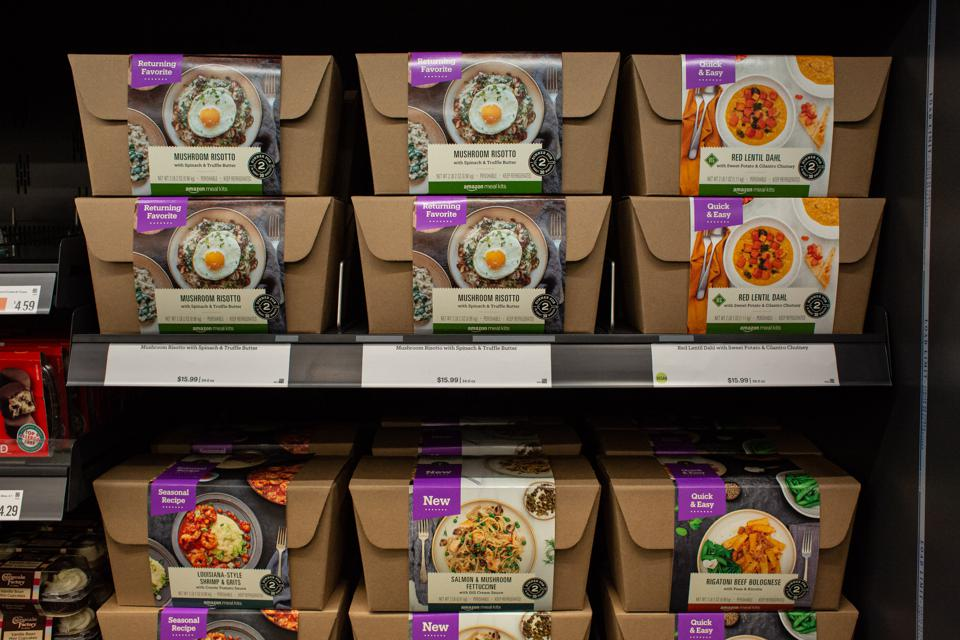 Amazon meal kits. Photo by David Ryder/Getty Images