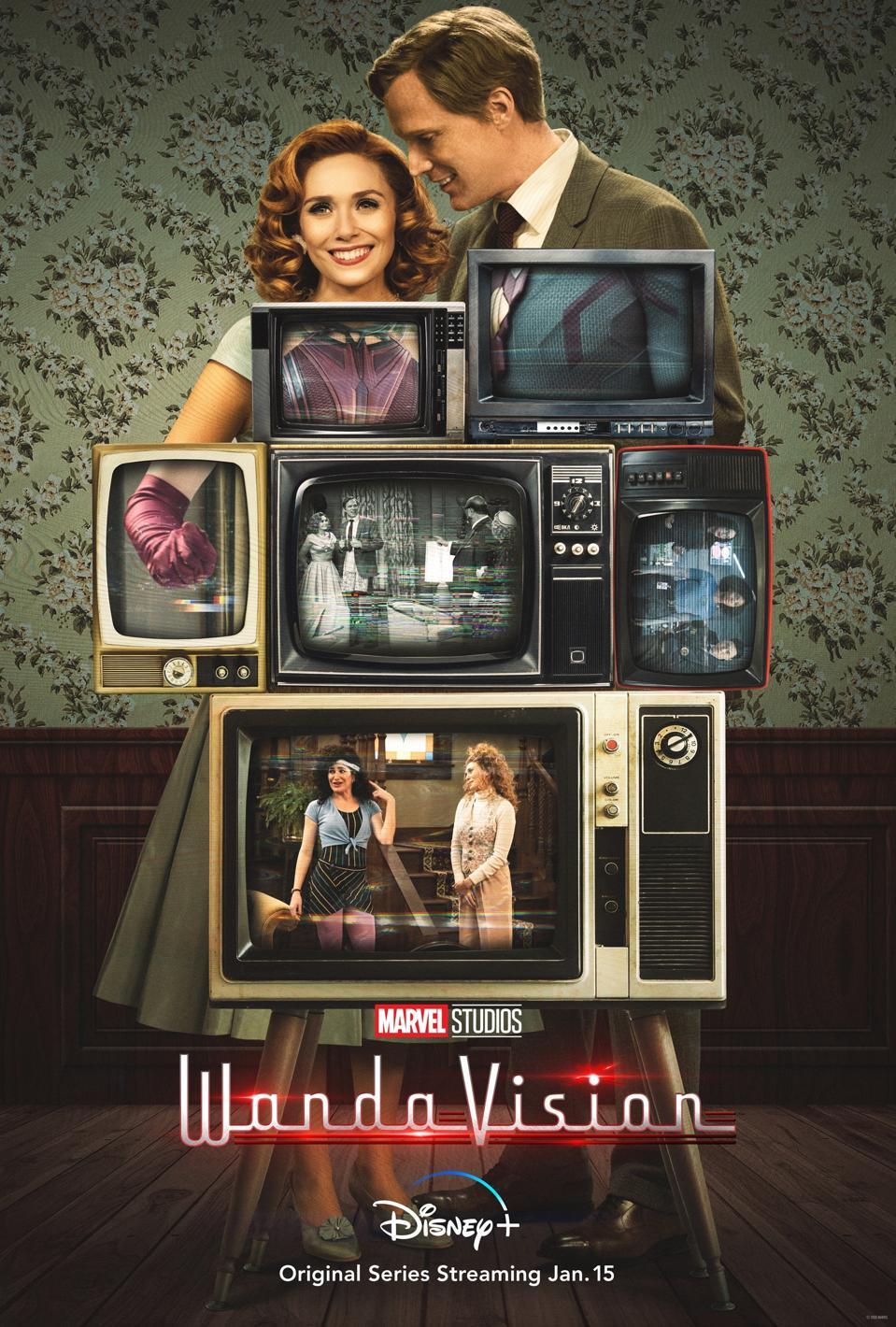 'WandaVision' poster