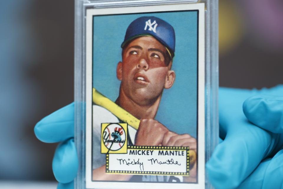 Mantle Card Baseball