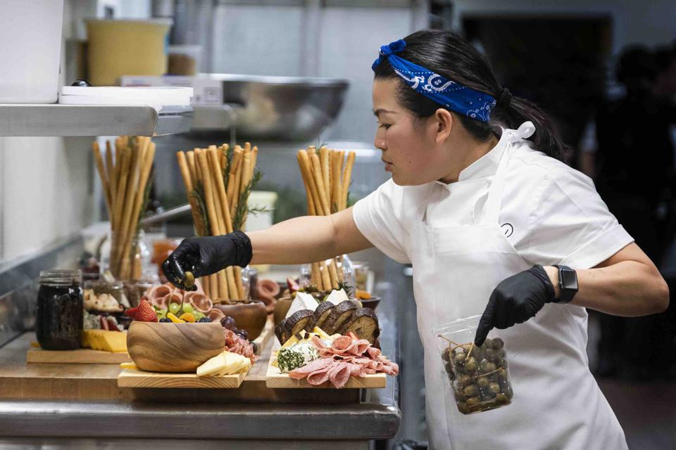 The Event takes viewers behind the scenes at Wolfgang Puck Catering.