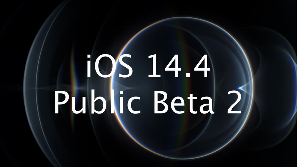 iOS 14.4 Public Beta 2